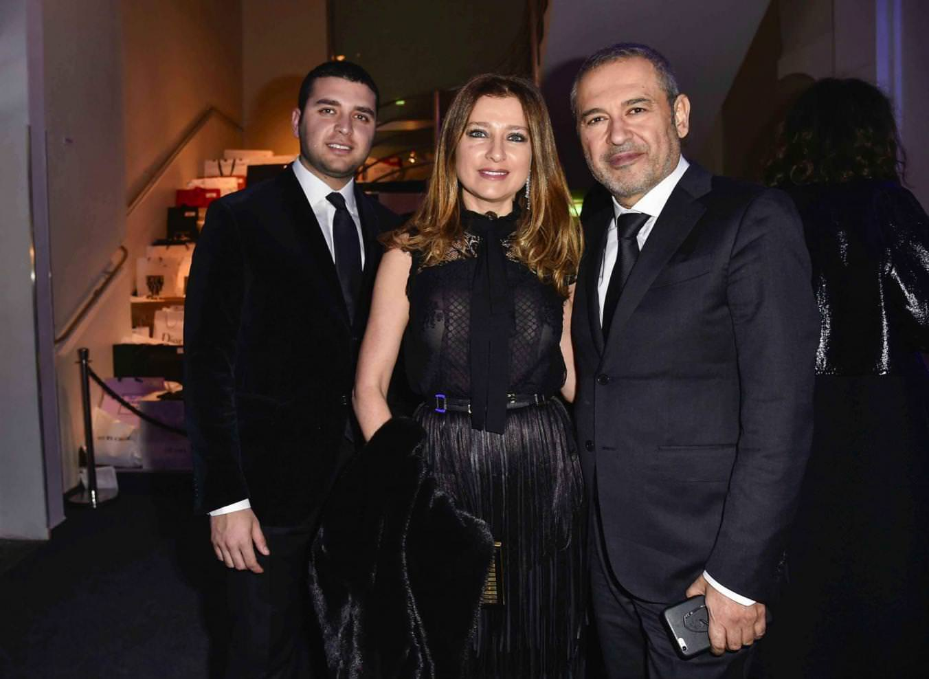 Elie Saab et sa famille