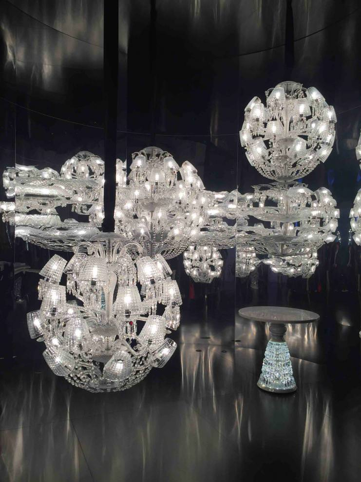 The Sun King (2016), Marcel Wanders, Baccarat.