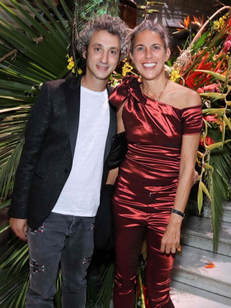 Jérôme Dreyfuss et Isabel Marant