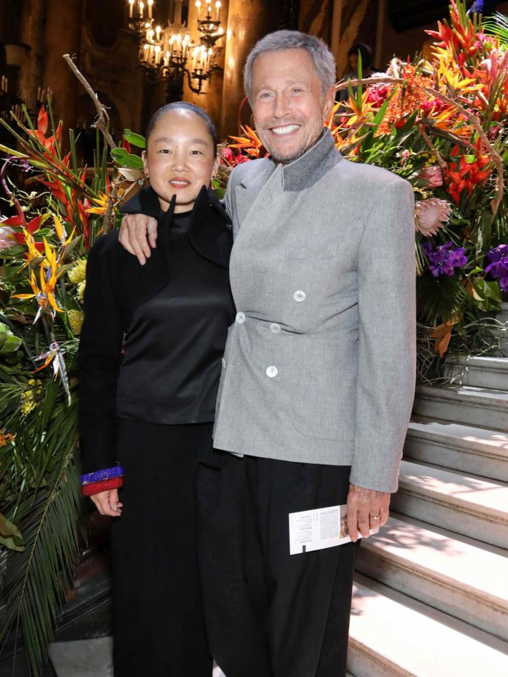 Karen Park et Jean-Paul Goude