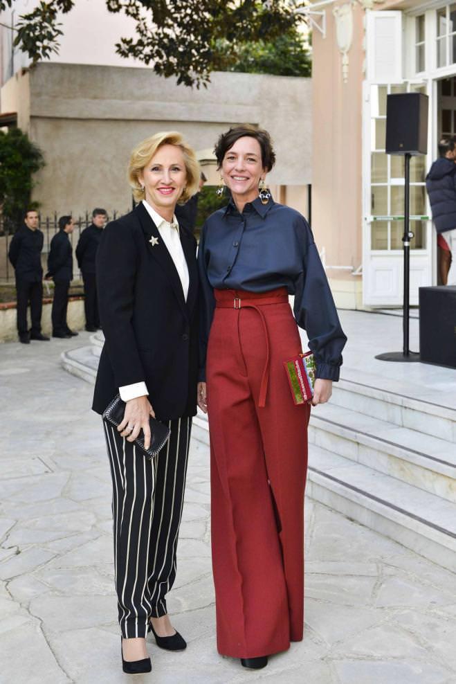Hélène Faggionato et Valentine Maillot