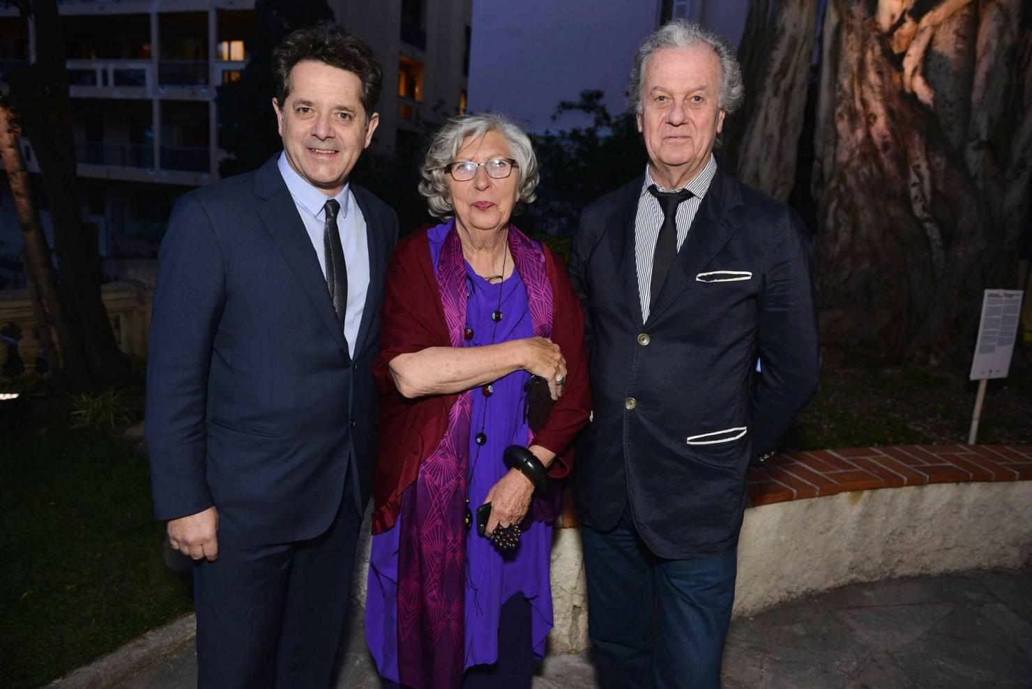 Jean de Loisy, Marie-Claude Beaud et Jacques Grange