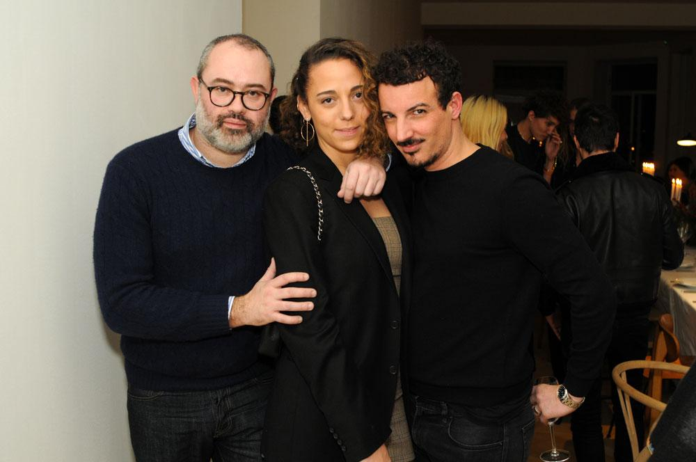 Lucien Pagès, Mahaut Mondino et Nicolas Ouchenir