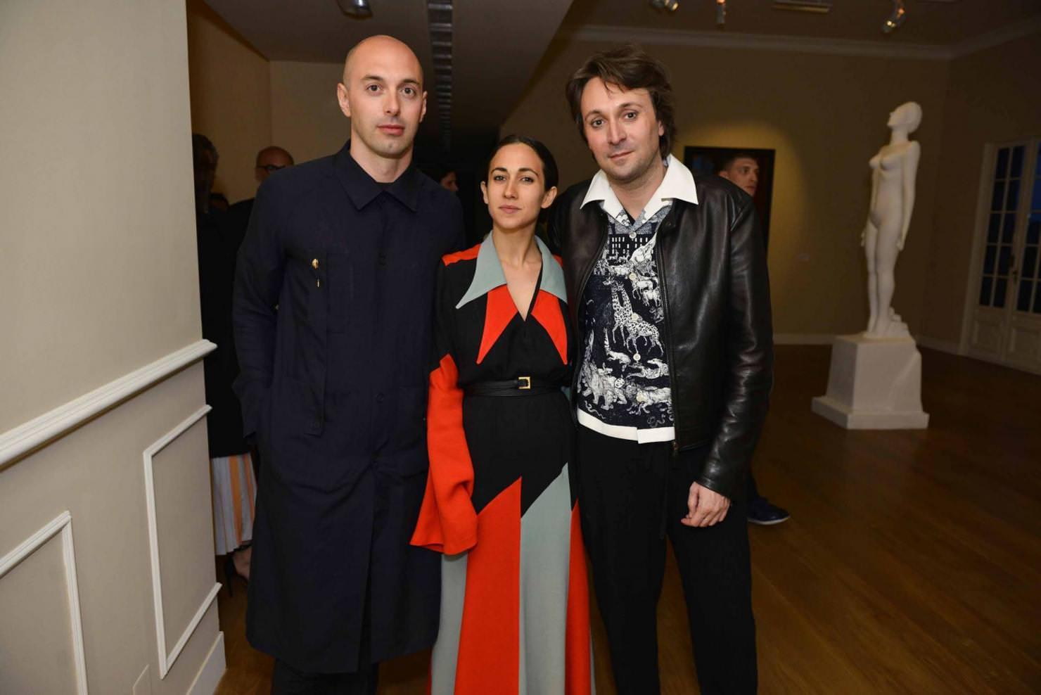 Nico Vascellari, Delfina Delettrez Fendi et Francesco Vezzoli