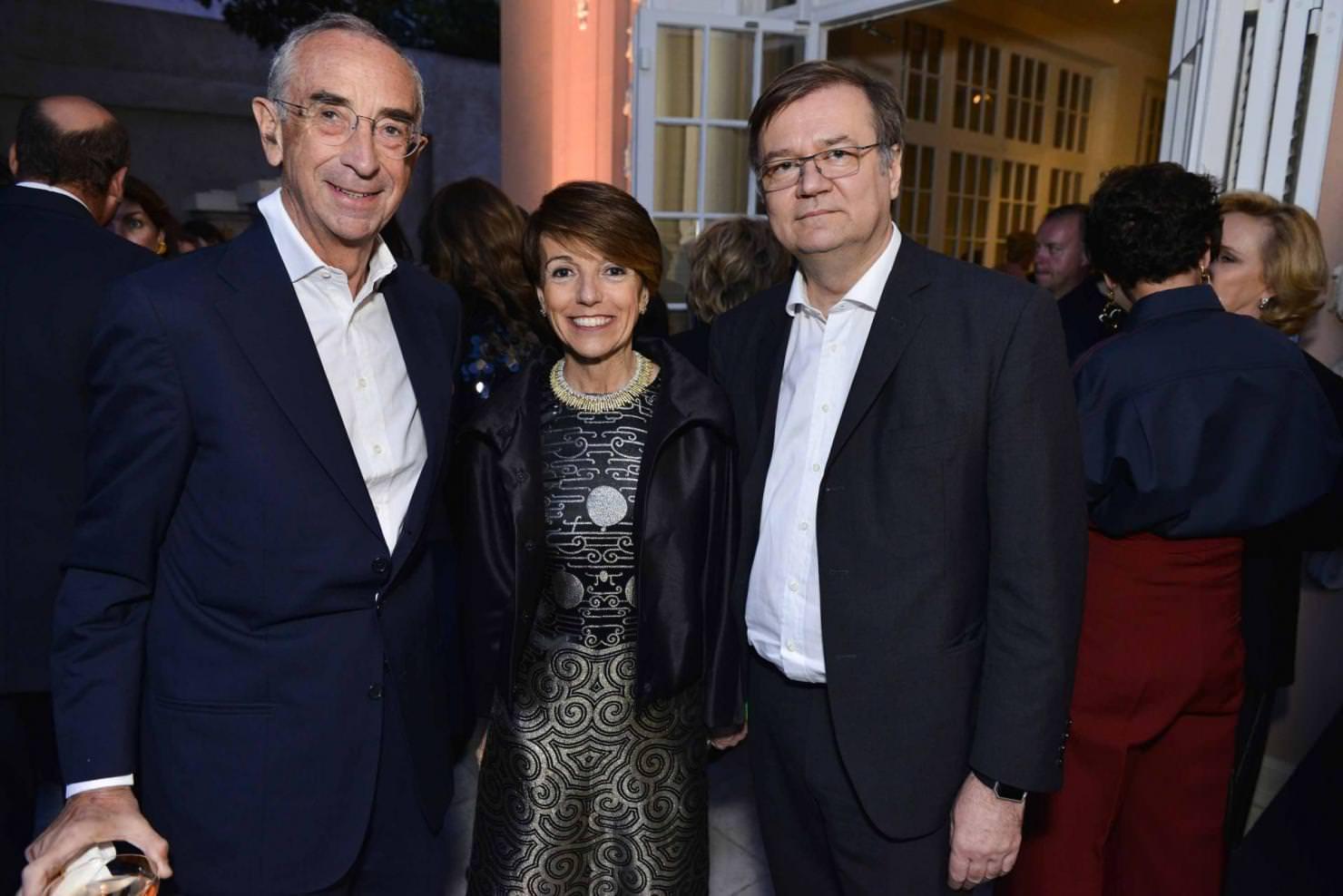 Sigifredo di Canossa, Patrizia Sandretto Re Rebaudengo et Agostino Re Rebaudengo