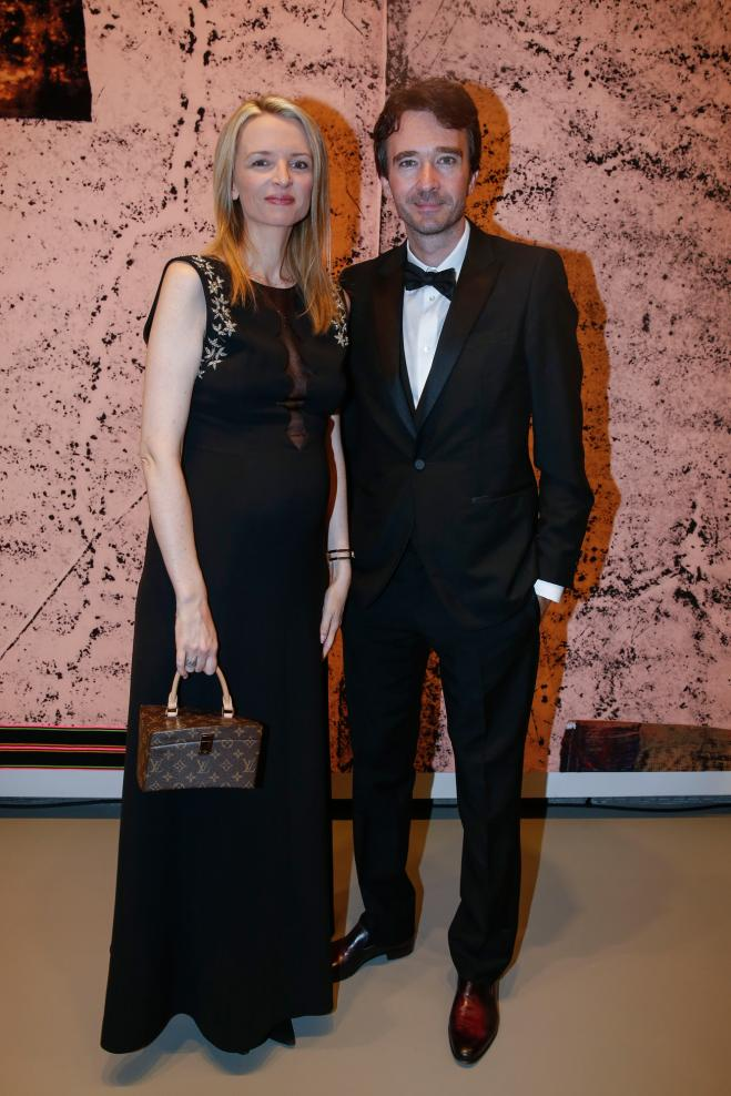Delphine et Antoine Arnault