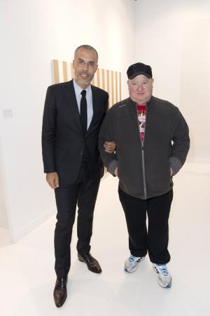 Kamel Mennour et Claude Lévêque