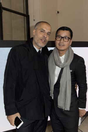 Kamel Mennour et William Zhao