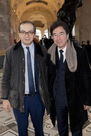 Laurent Le Bon et Jérôme Neutres