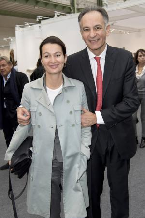 Guillaume Cerutti et sa femme Marjorie