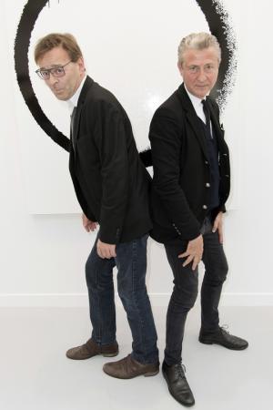 Wim Delvoye et Jérôme Sans