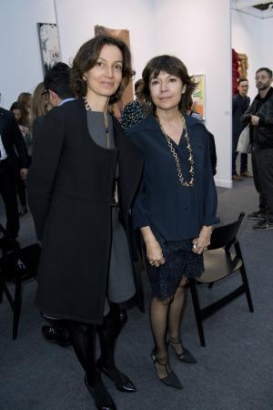 Audrey Azoulay et Nathalie Obadia
