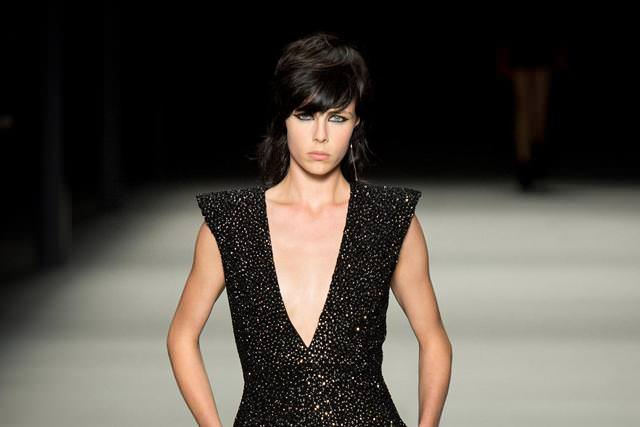 Edie Campbell, Saint Laurent Paris printemps-été 2014