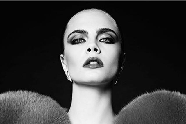Cara Delevigne pour la campagne automne-hiver 2016-2017