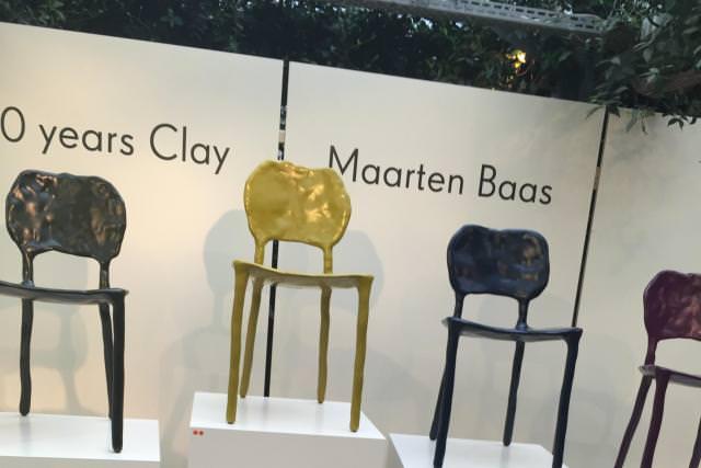 Clay (10 years anniversary) de Maarten Baas, au Spazio Rossana Orlandi.