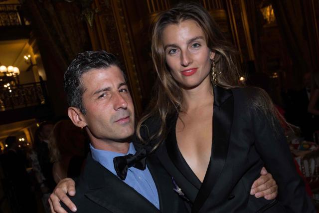 André Saraiva et Sonia Sieff