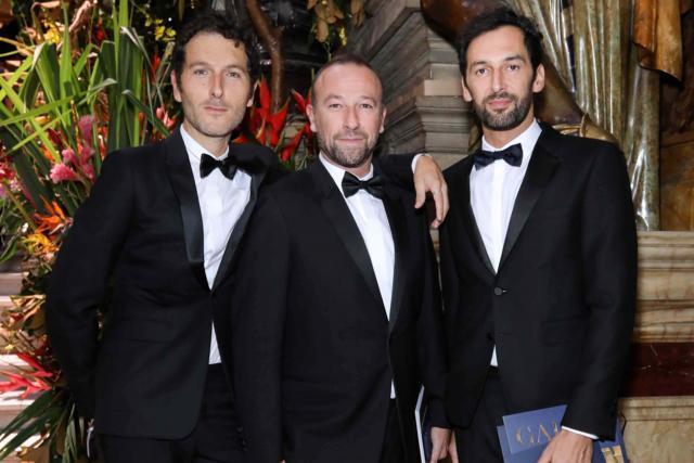 Simon Buret, Jérôme Pulis et Olivier Coursier