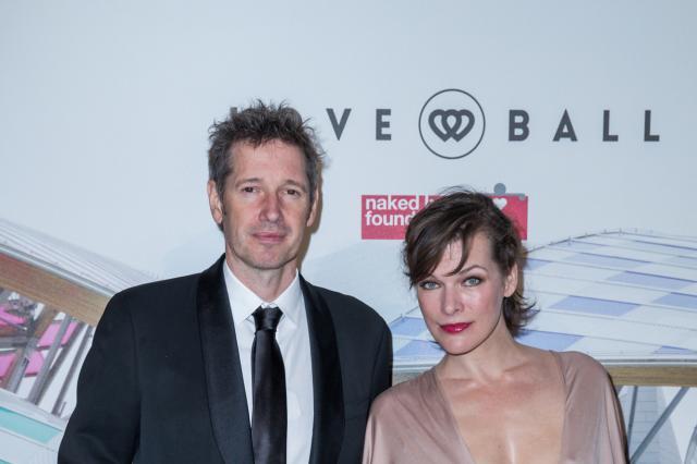 Milla Jovovich et Paul Anderson