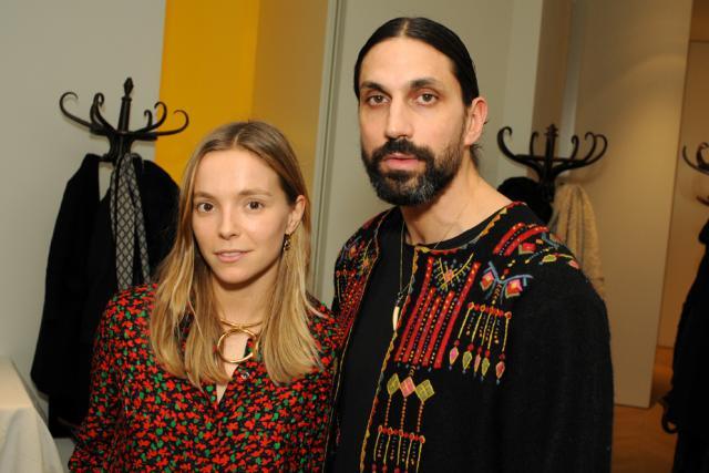 Charlotte Chesnais and Ben Gorham