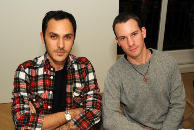 Jean-Baptiste Talbourdet et Dan Thawley