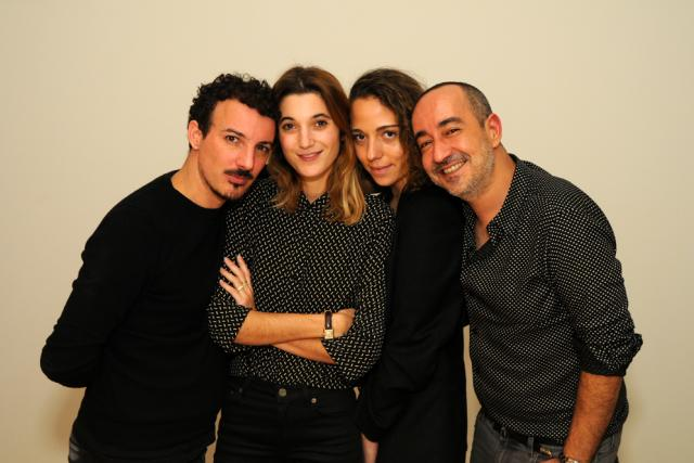 Nicolas Ouchenir, Lolita Jacobs, Mahaut Mondino and Saif Mahdi