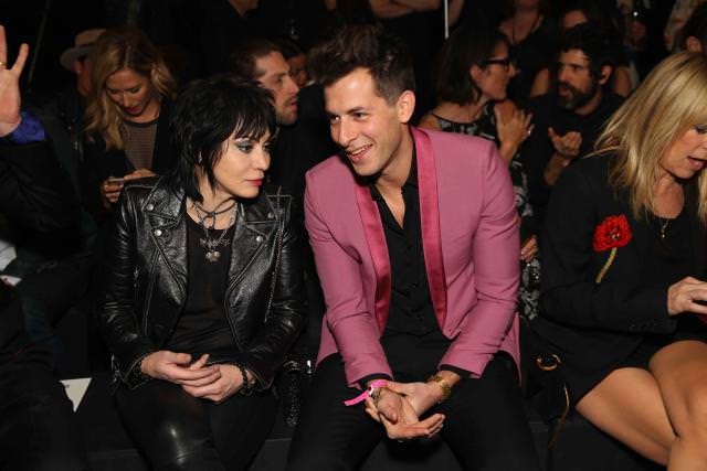 Joan Jett and Mark Ronson