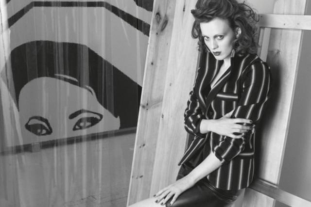 Karen Elson photographiée par Victor Demarchelier pour le Numéro Art juin 2014
