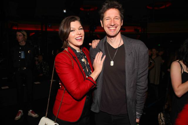 Mila Jovovich and Paul W. S. Anderson