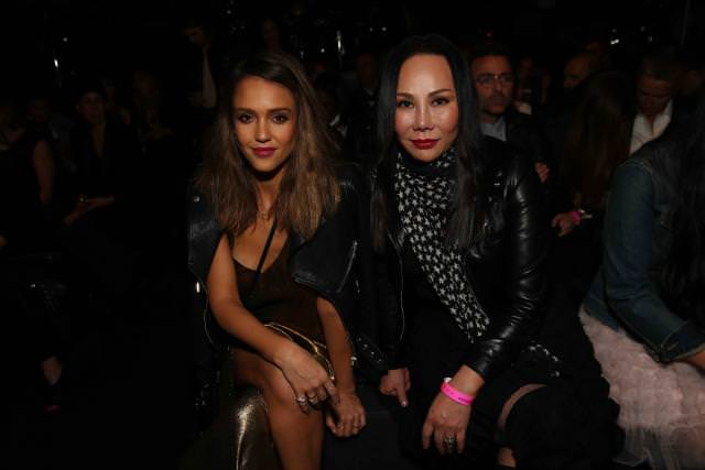 Jessica Alba and Eva Chen