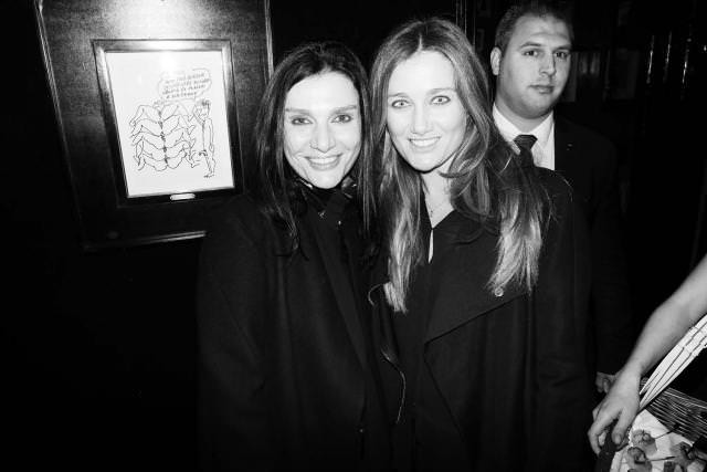 Ilaria Nistri and her sister