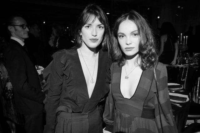 Jeanne Damas et Lola Le Lann