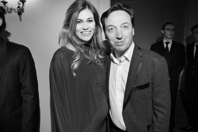 Lorena Vergani et Emmanuel Perrotin