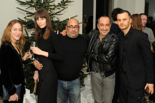 Aurélie Biderman, Lana Petrusevych, Ezra Petronio, Saif Mahdi and Kris Van Assche