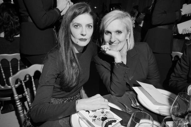 Chiara Mastroianni et Maria Grazia Chiuri