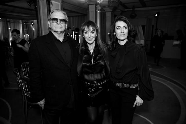 Olivier Massart, Babeth Djian et Mademoiselle Agnès - Photo : SayWho / Jean Picon
