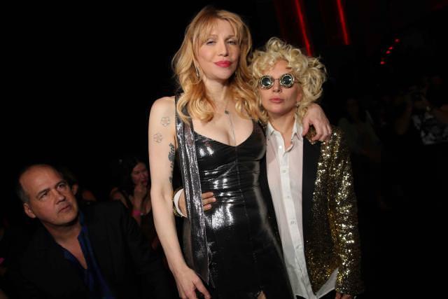 Courtney Love and Lady Gaga