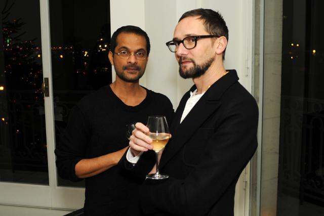 Ramesh Nair and Samuel François