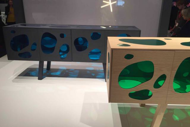 Aquario Cabinets (2016) de Fernando et Humberto Campana, chez BD Barcelona.
