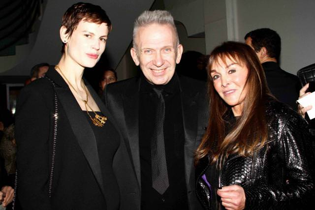 Saskia de Brauw, Jean Paul Gaultier et Babeth Djian