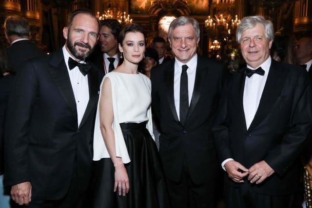 Ralph Fiennes, Aurélie Dupont, Sidney Toledano et Stéphane Lissner