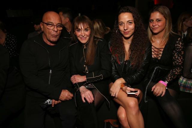 Jean-Baptiste Mondino, Babeth Djian, Mahaut Mondino et Mila Morgensztern (Photo : Saskia Lawaks)