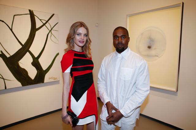 Natalia Vodianova et Kanye West